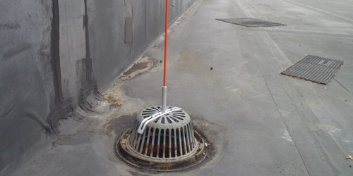 Roof Drain Marker