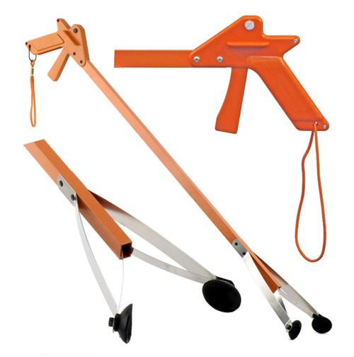 "Orange-U-Tongs PRO 36"" Trash Pick-up Tool"