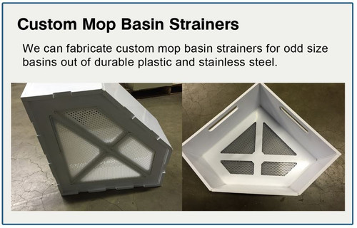 Custom Mop Basin Strainer