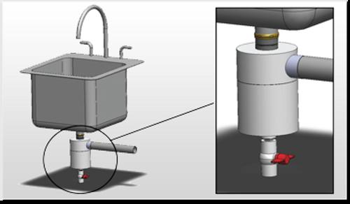 Microceptor - Under-sink Coffee Grounds Interceptor