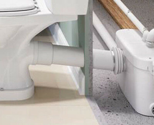 Extension Pipe for Toilet Grinder System