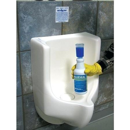 BlueSeal Waterless Urinal Trap Liquid Odor Eliminator