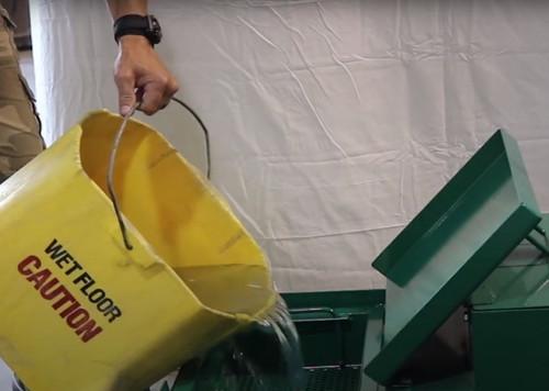 Mop WasteWater Dump Station