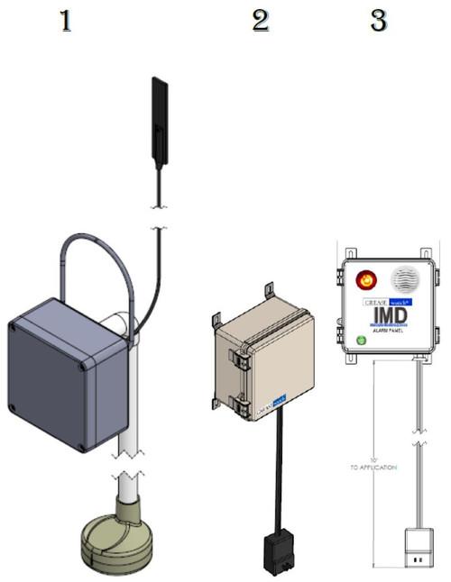 Wireless tank monitor