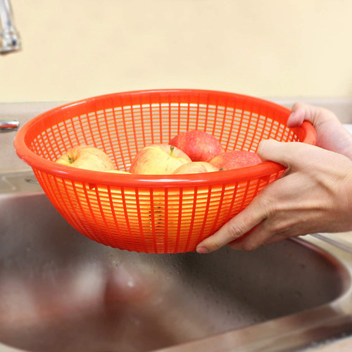 food rinse basket for the sink