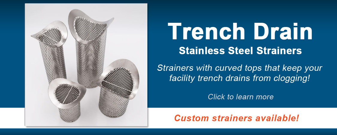 Stainless Steel Trench Drain Strainers