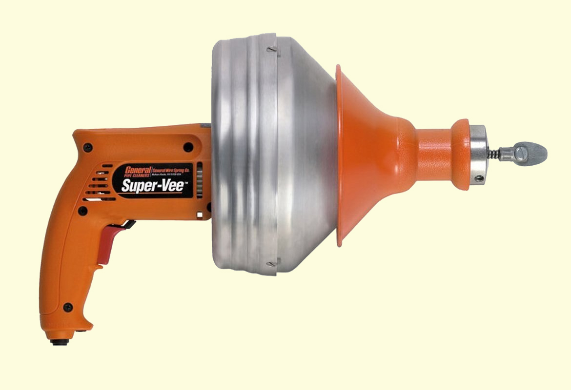 Drain Cleaning Tools & Equipment
