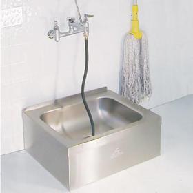 """9-OP-20 - Mop Sink - 21"""" x 25"""" x 10"""" Tall"""