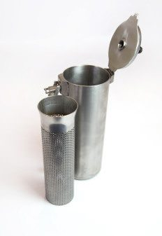 drain filter for coffee grinds waste water