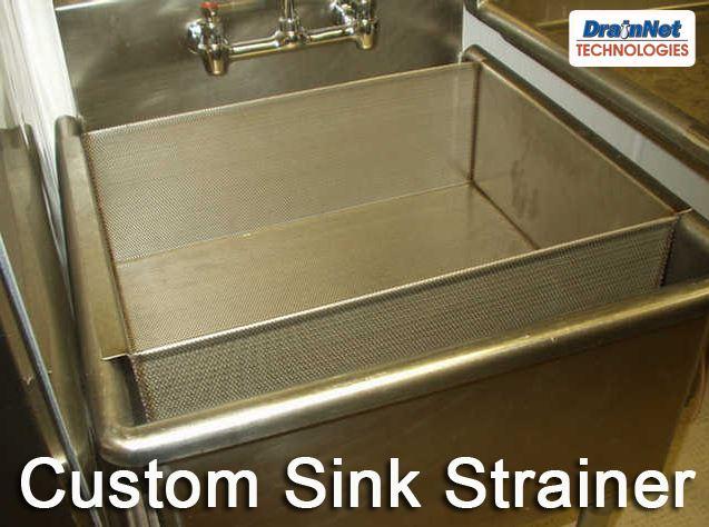 Custom Stainless Steel Sink Strainer
