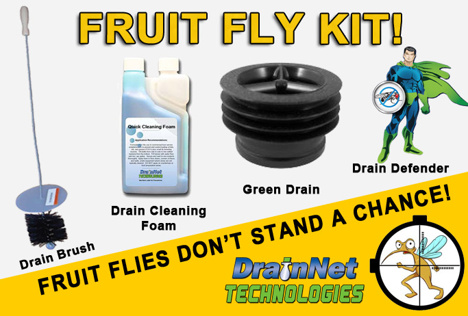 Fruit Fly Kit for restaurants and commercial facilities
