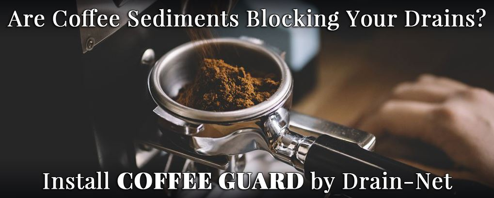 coffee grinds clogging drains
