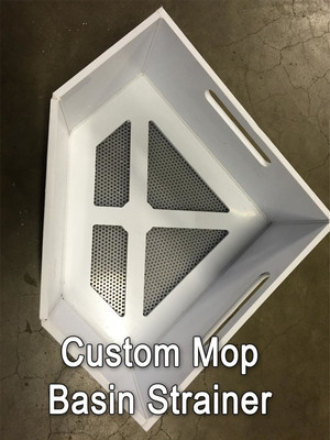 Triangle And Custom Mop Basin Strainers Restaurants