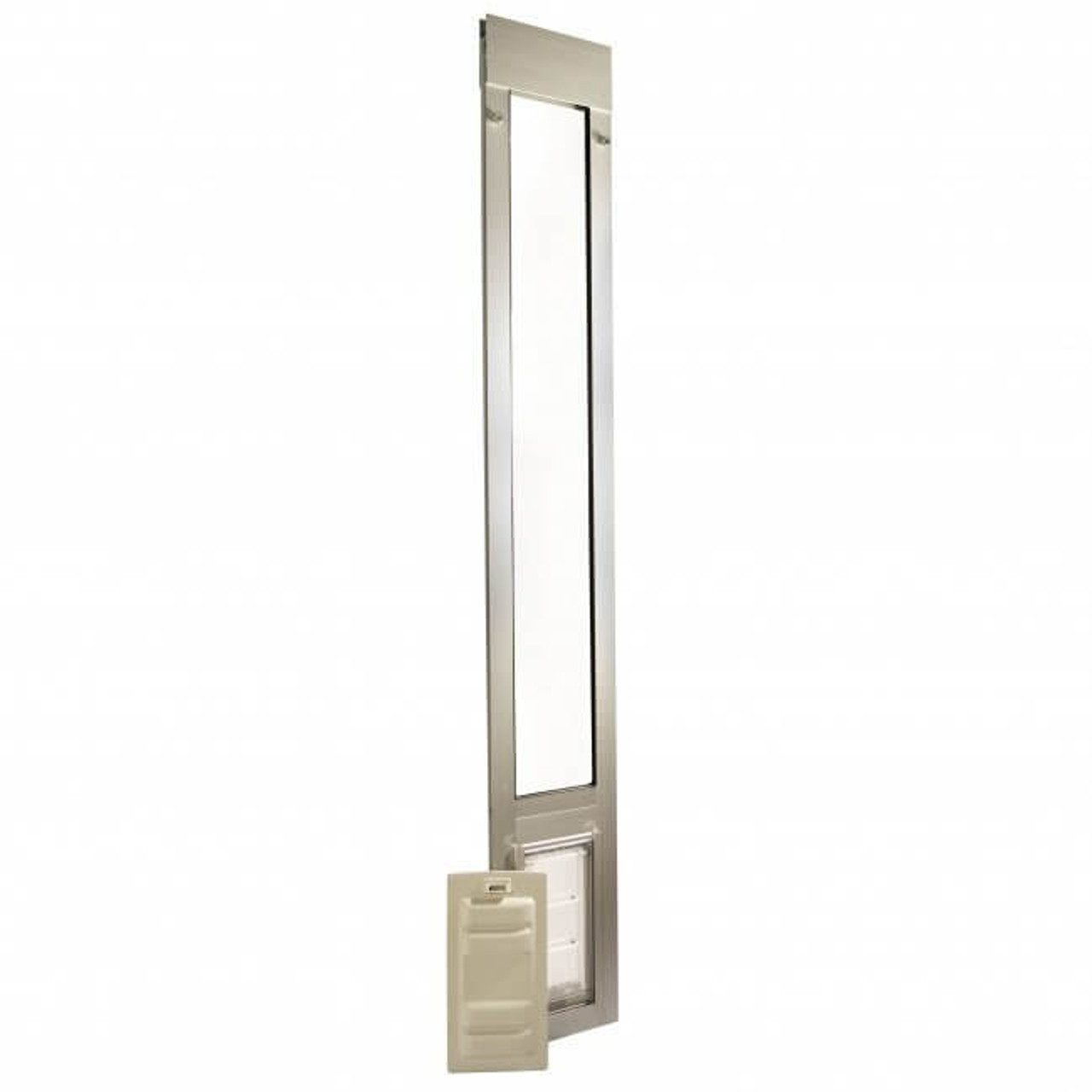 Thermo Panel 3e Endura Flap doggy door has a 3 inch spring loaded adjuster that makes installation quick and easy