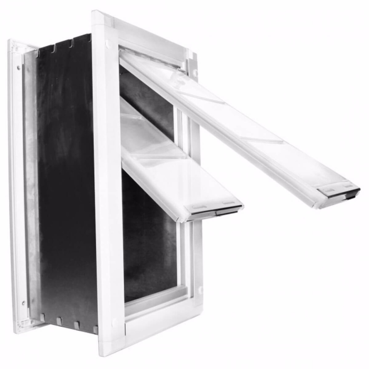 Endura Flap wall pet doors with double flaps are extremely weather tight and can be used in the hottest and coldest climates