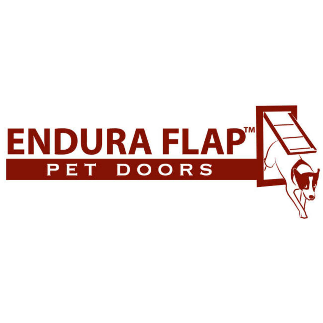 Endura Flap Pet Doors have hollow soft plastic flaps which swing from a hinge and are super durable and weather tight