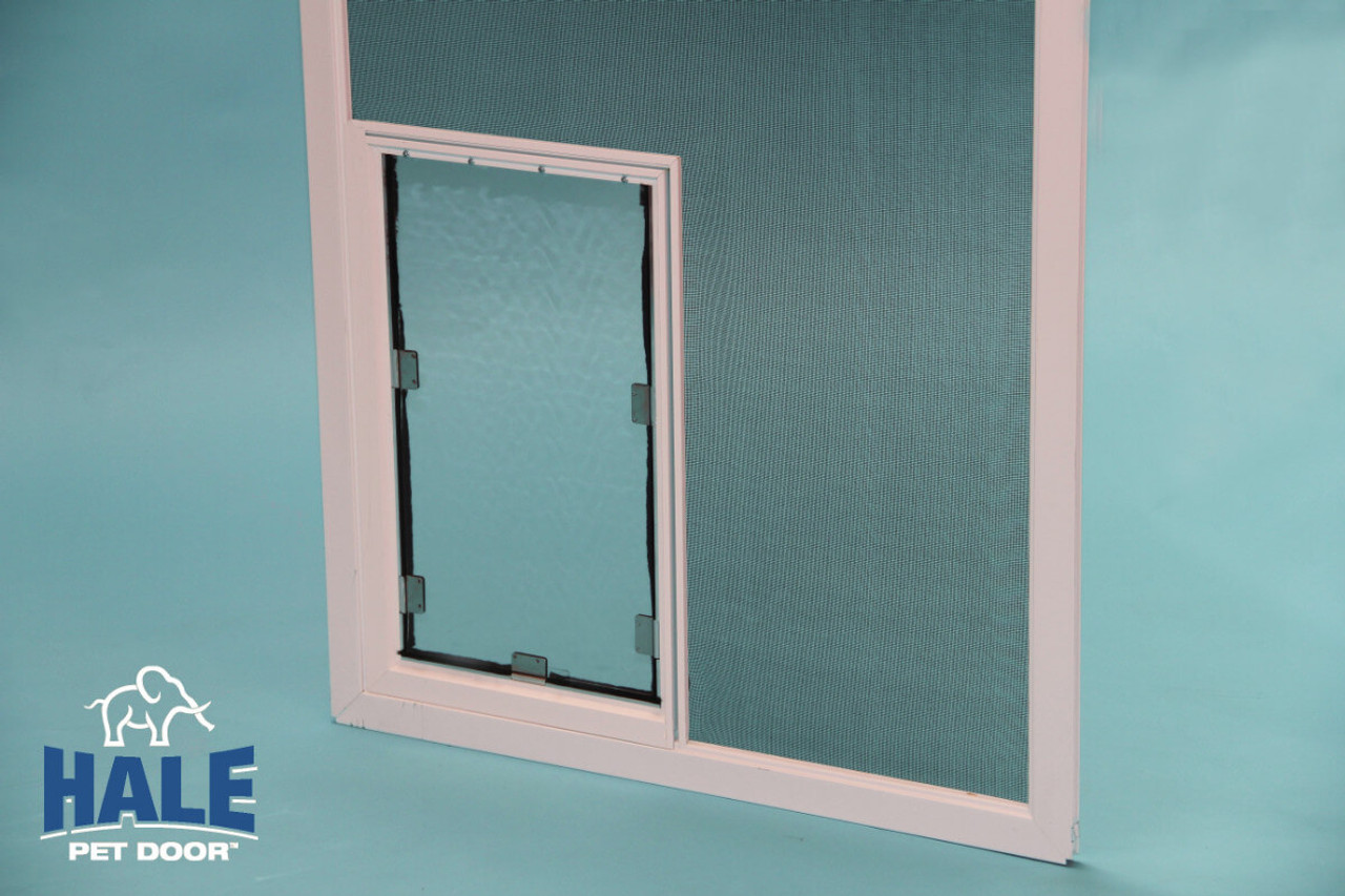Hale Screen Dog Door will fit on swinging and sliding screen doors lanais pool cages and screened porches