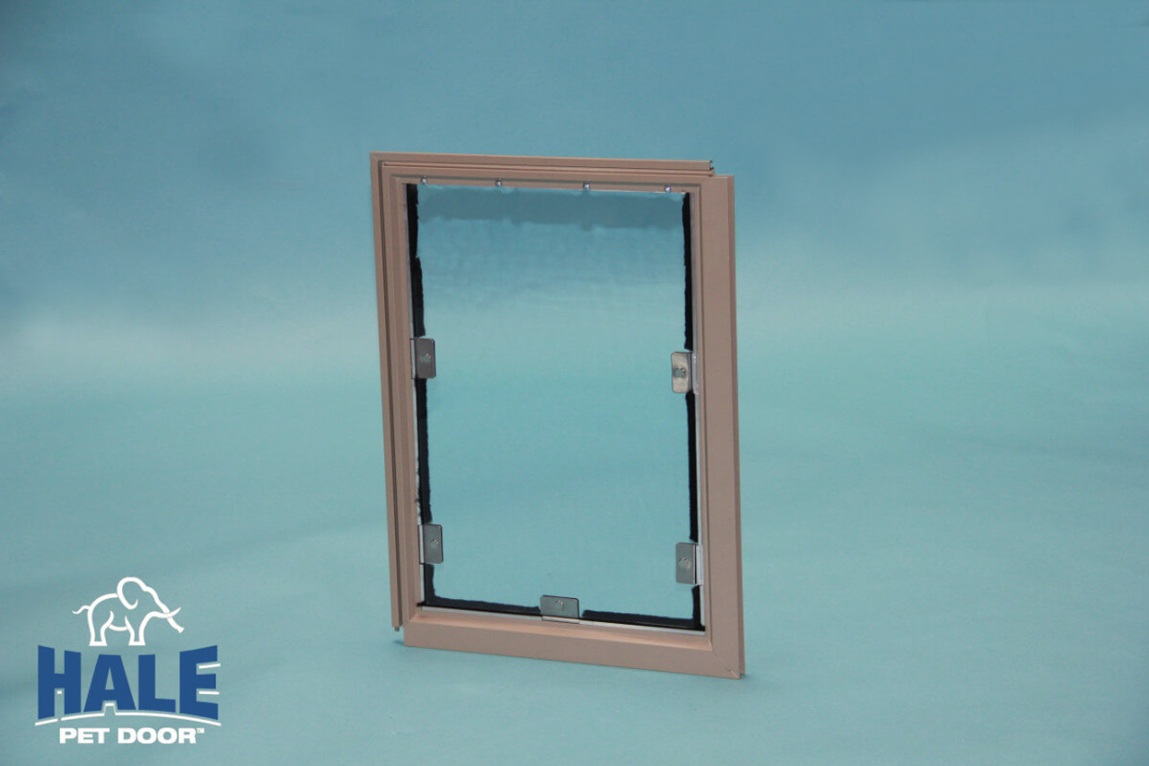 Hale Screen doggy door attaches to the frame of the screen making it much stronger than competitors that clip to the screen mesh