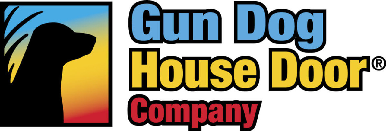Gun Dog House Door makes durable chew proof doggy doors for industrial applications