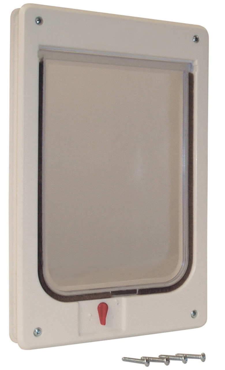 Ideal Chubby Kat Flaps are large enough for the biggest cats and share all of the features of the smaller cat flap including the 4 way lock