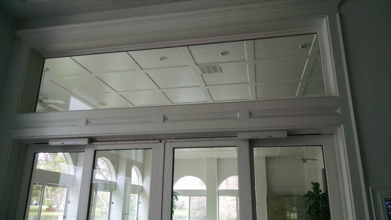 Autoslide electronic automatic sliding glass door openers can be used on two or four panel sliding glass doors