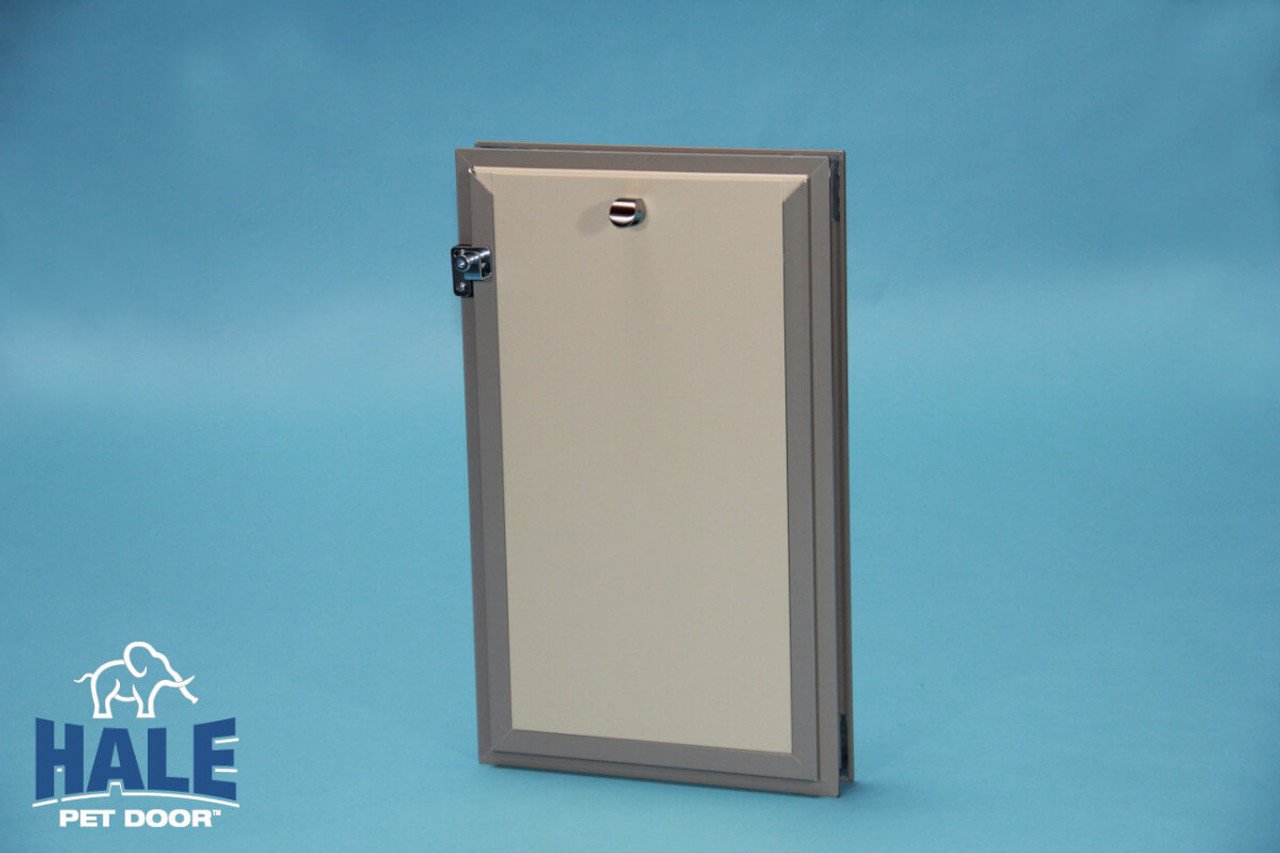 Hale dog doors are very weather tight when purchased with double flaps