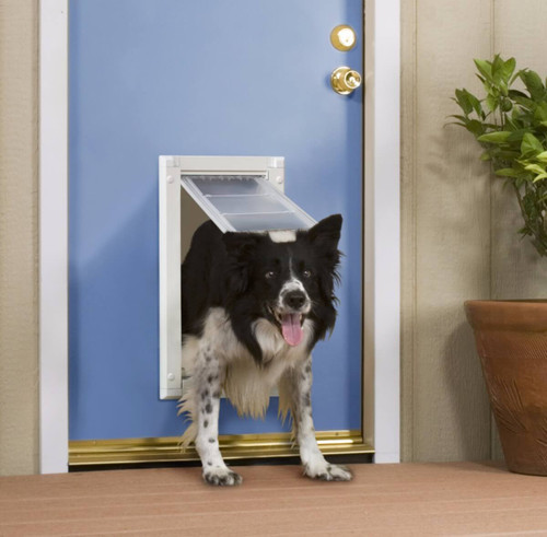 Endura Flap dog doors are very durable and have a 10 year warranty