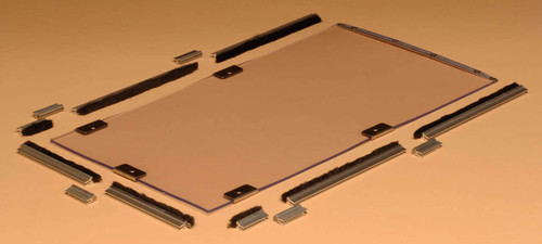 Hale Pet Door replacement flap kits come with the flap replacement magnets and weather strips