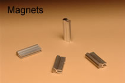 Replacement Alnico magnets for the Hale Pet Door press into the frame of the doggy door
