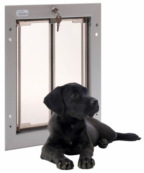 Plexidor pet doors are in our estimation the best looking doggy doors available
