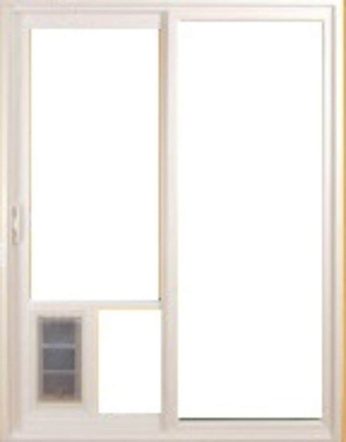 Pet Door Guys In Glass Doggy Doors use the excellent Endura Flap pet door which is very weather tight and well insulated