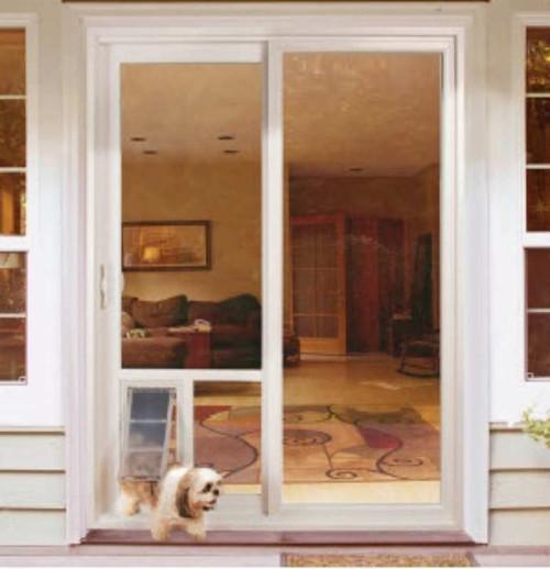 sliding patio dog door