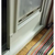 Monorail adapter allows installation of aluminum Thermo Panel in vinyl sliding glass door with tall track