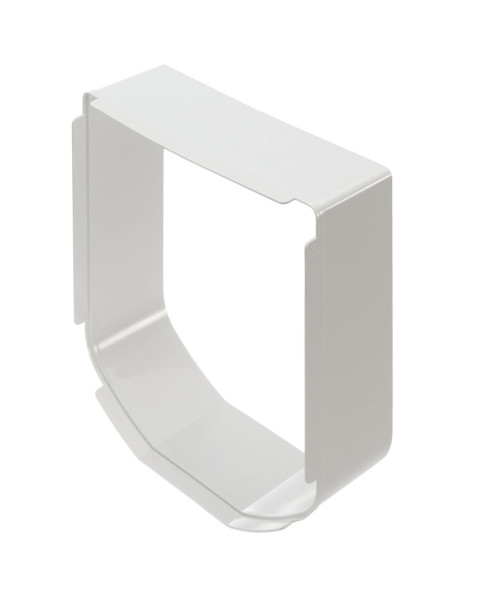 SureFlap tunnel extensions add 2 inches in depth and can be stacked until you have coverage to the other side of the wall