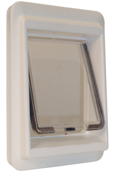 Ideal Pet Products E-Cat electromagnetic cat doors keep out strays and are easy to install