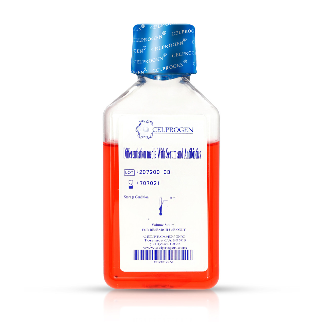 Human Oligodendrocyte Primary Cell culture Differentiation Media with Serum
