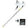 Inspection Mirror Telescoping Standard Aluminum with mirror pouch