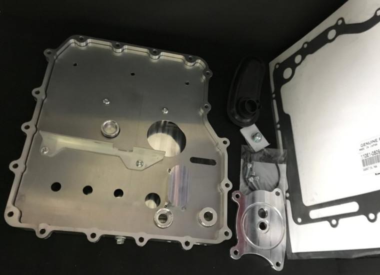 ZX14 Oil Pan Kit Gen1 & Gen2 with ZX14 Remote Oil Filter Mount Save 75.00