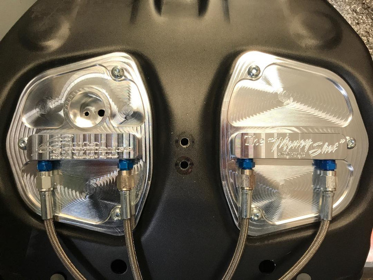 Zx14 Nitrous Manifolds W/ Bottle and solenoid GEN2 (2012-Present)