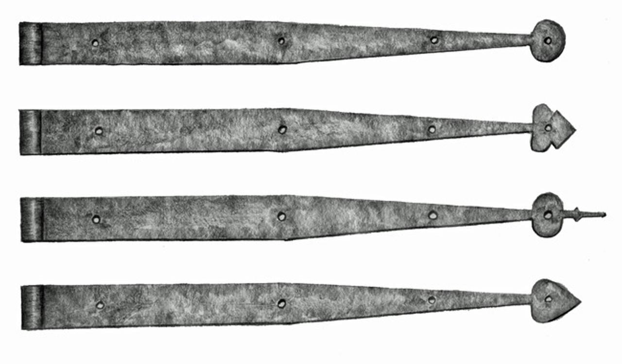 Picture of: Pintle Strap Hinge 14 22 Or 30 Williamsburg Blacksmiths