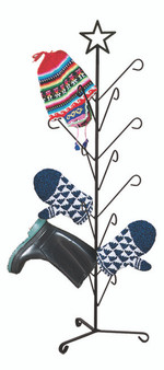 Mitten and Boot Dryer Stand, Star
