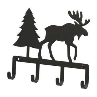 Moose and Pine Key Holder