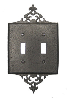 Decorative 2 Switch Plate