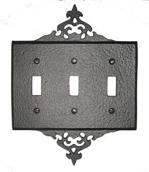 Decorative 3 Switch Plate