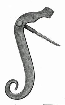 Salamander Shutter Dogs, Pair