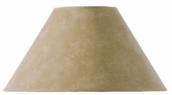 "Parchment Table Lamp 18"" Shade"