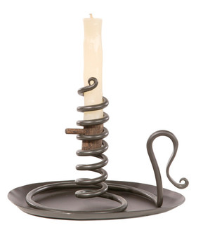 Courting Candle Holder and Drip Pan