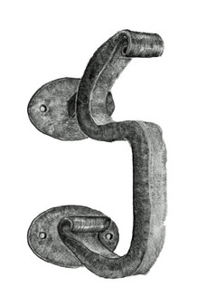 Bean S-Curl Door Knocker