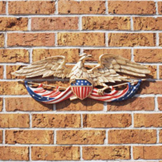 24 Inch Patriotic Wall Eagle