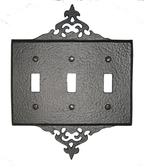 Decorative 3 Switch Plate